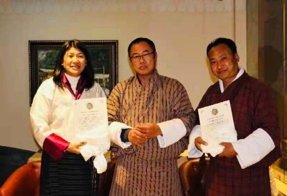 Certificate of Registration issued to two new CSOs